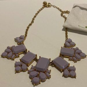 ♥️HOST PICK♥️ Kate Spade Lilac Statement Necklace